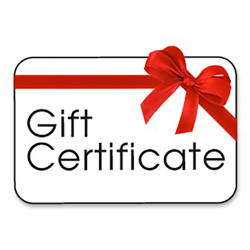 gift certificate certificates clinic special occasions person